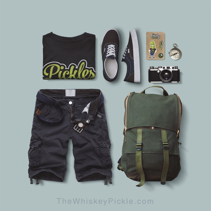 outfit grid - world traveler - pickles